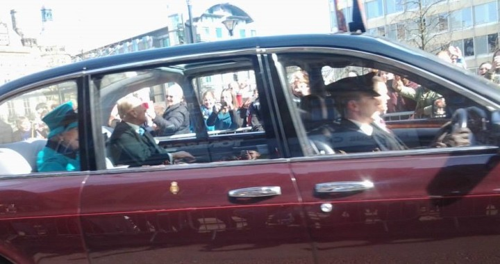 That Time I Saw the Queen of England